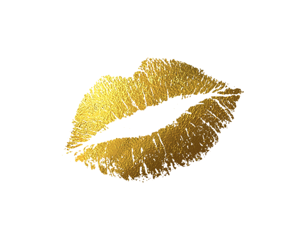 Gold lips png. Tank top for sale