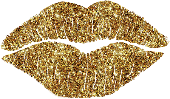 Gold lips png. Download hd for free