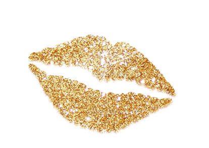 Gold lips png. Image
