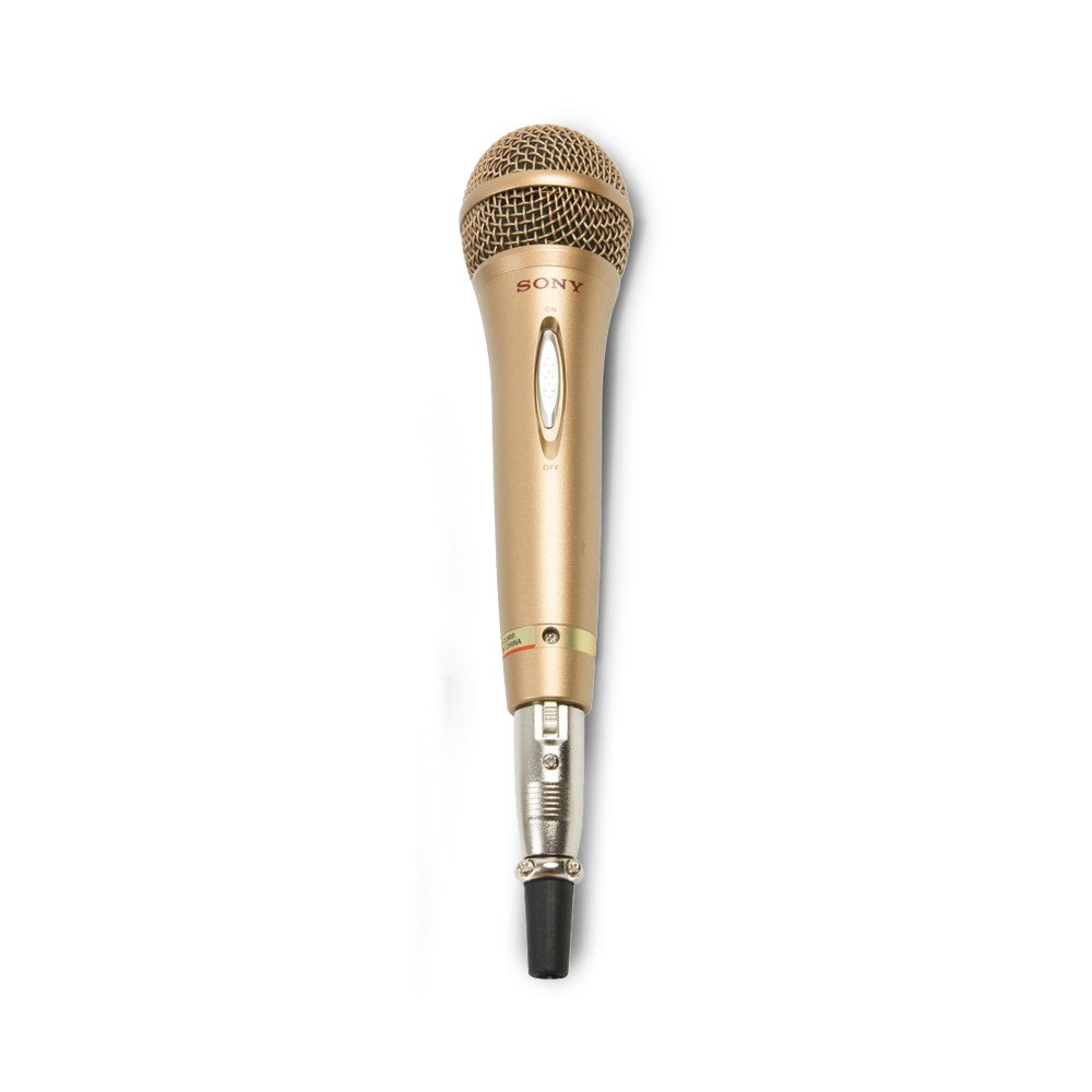Gold mic png. Vocal microphone