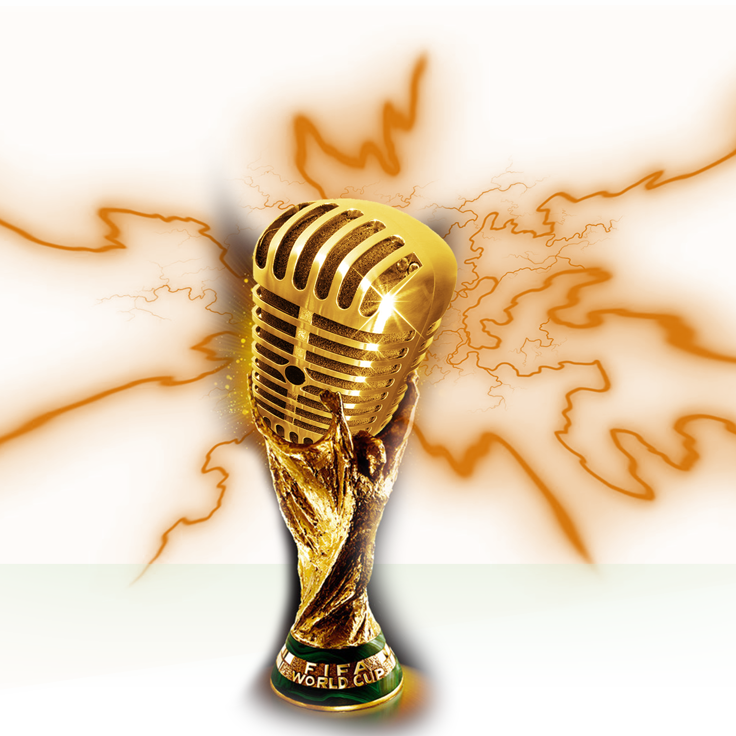 Gold mic png. Microphone headphones download transprent