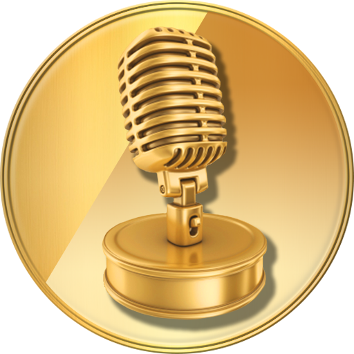 Gold mic png. Voice changer sound maker