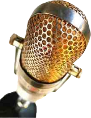 Golden microphone png. Gold mic psd