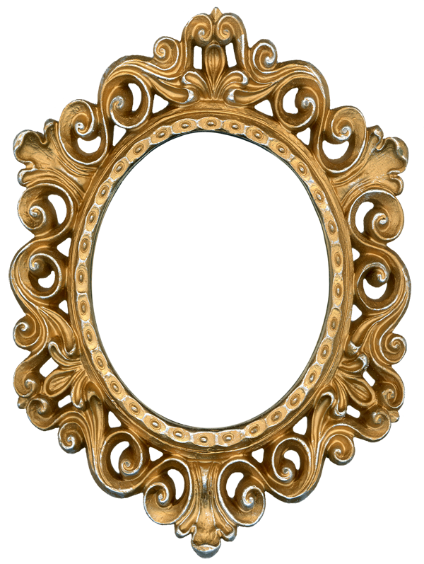 Gold mirror png. Frame it would make