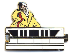 Gold monorail. Details about disney pin