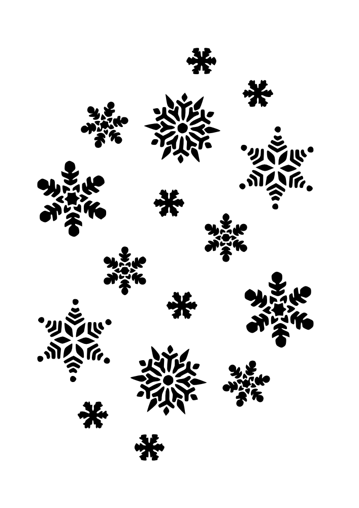 Gold music notes and snowflakes png. Pinterest vector freeuse download