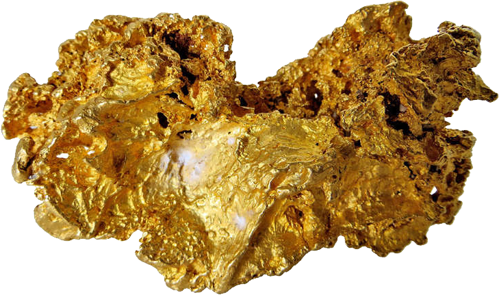 gold nugget png