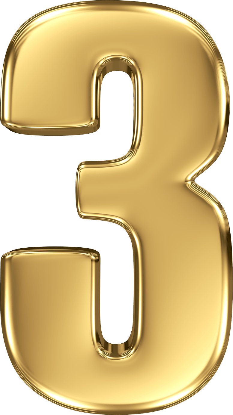 Gold numbers png. Number transparent stickpng miscellaneous