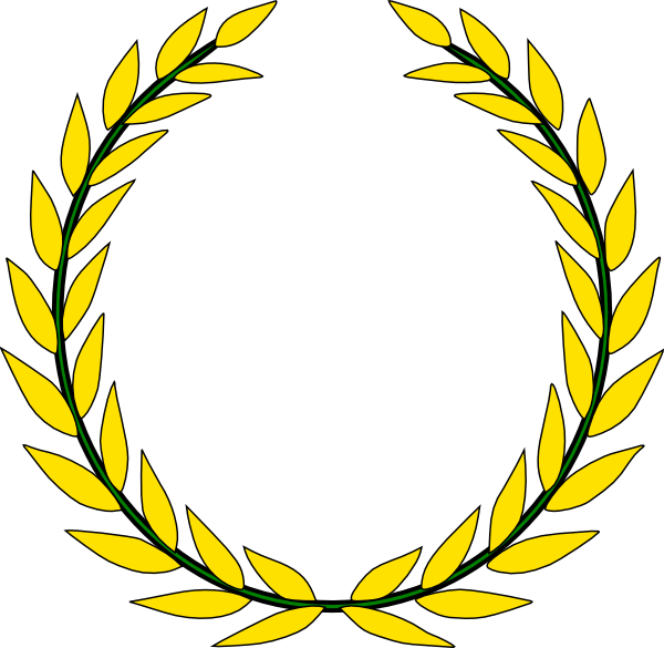 gold olive branch png