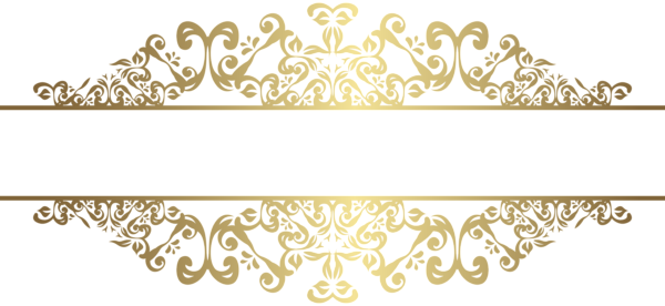 Gold decorative png clip. Decor vector ornamental wedding decoration element picture free library