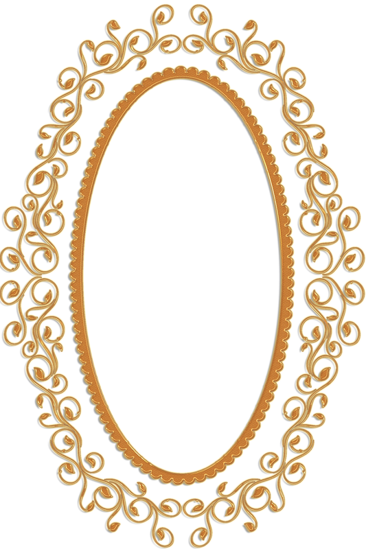 Gif frames to png. Gold oval frame clipart
