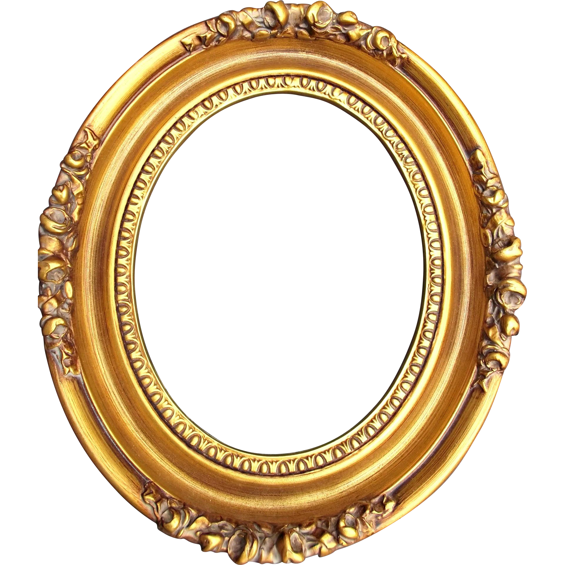 Gold oval frame png. Picture frames levkas wood