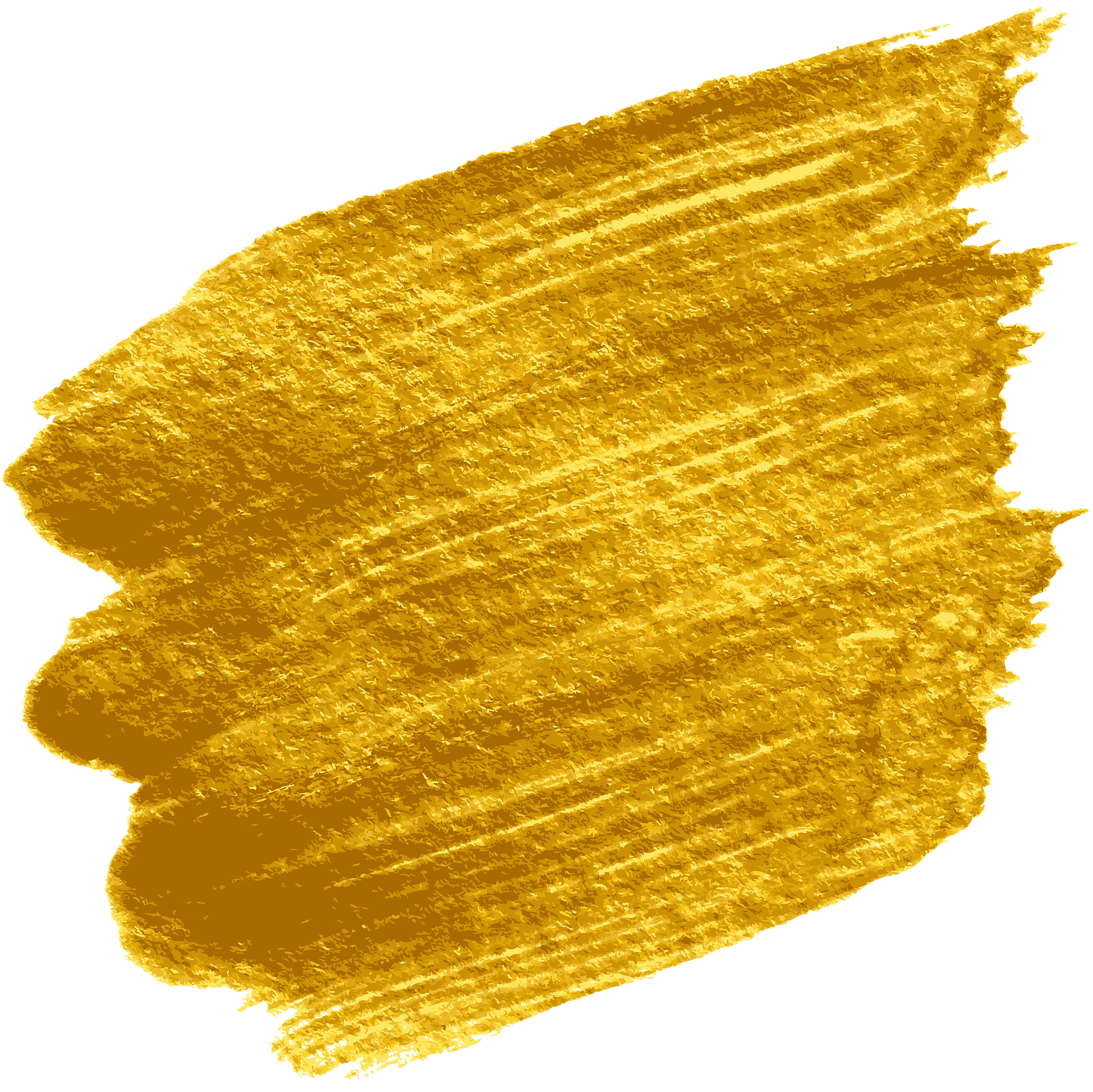 Gold paint png. Shining stain transparent clip