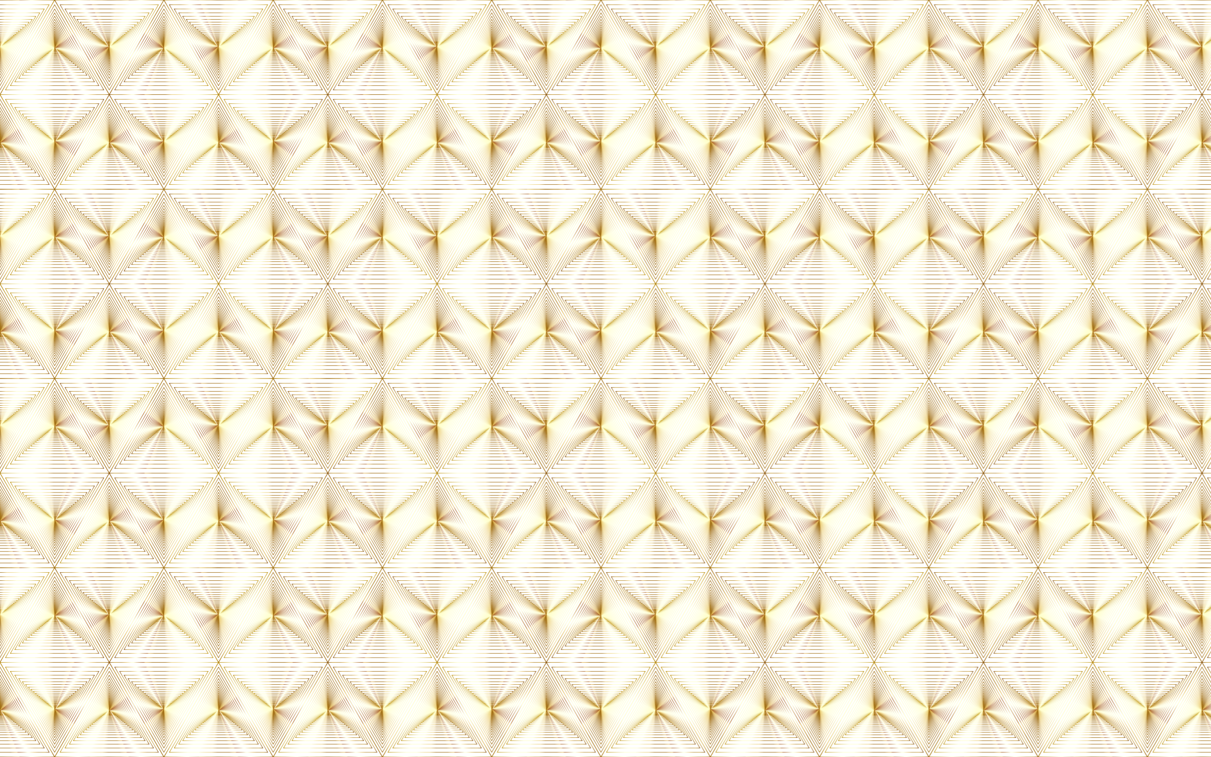 Gold pattern png. Triangular seamless no background