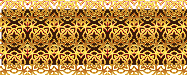 Gold patterns png. Set of luxury golden