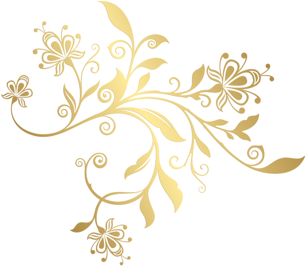 Gold picture ornaments png. Gallery decorative elements