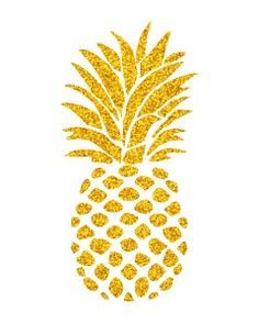 Gold pineapple. Pin by brittany mccormick