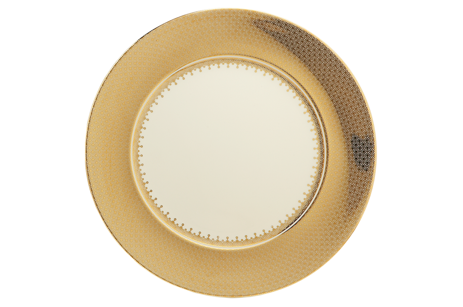 Gold plate png. Lace service