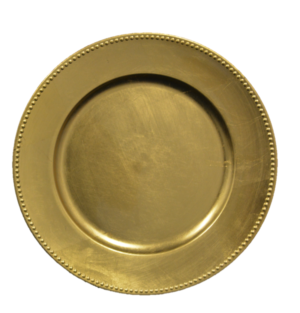 Gold plate png. Charger plates signature event