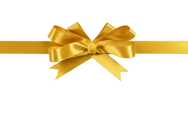 Gold ribbon png. Picture arts