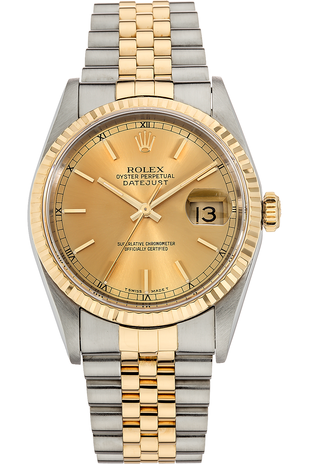 Gold rolex png. Pre owned datejust yellow