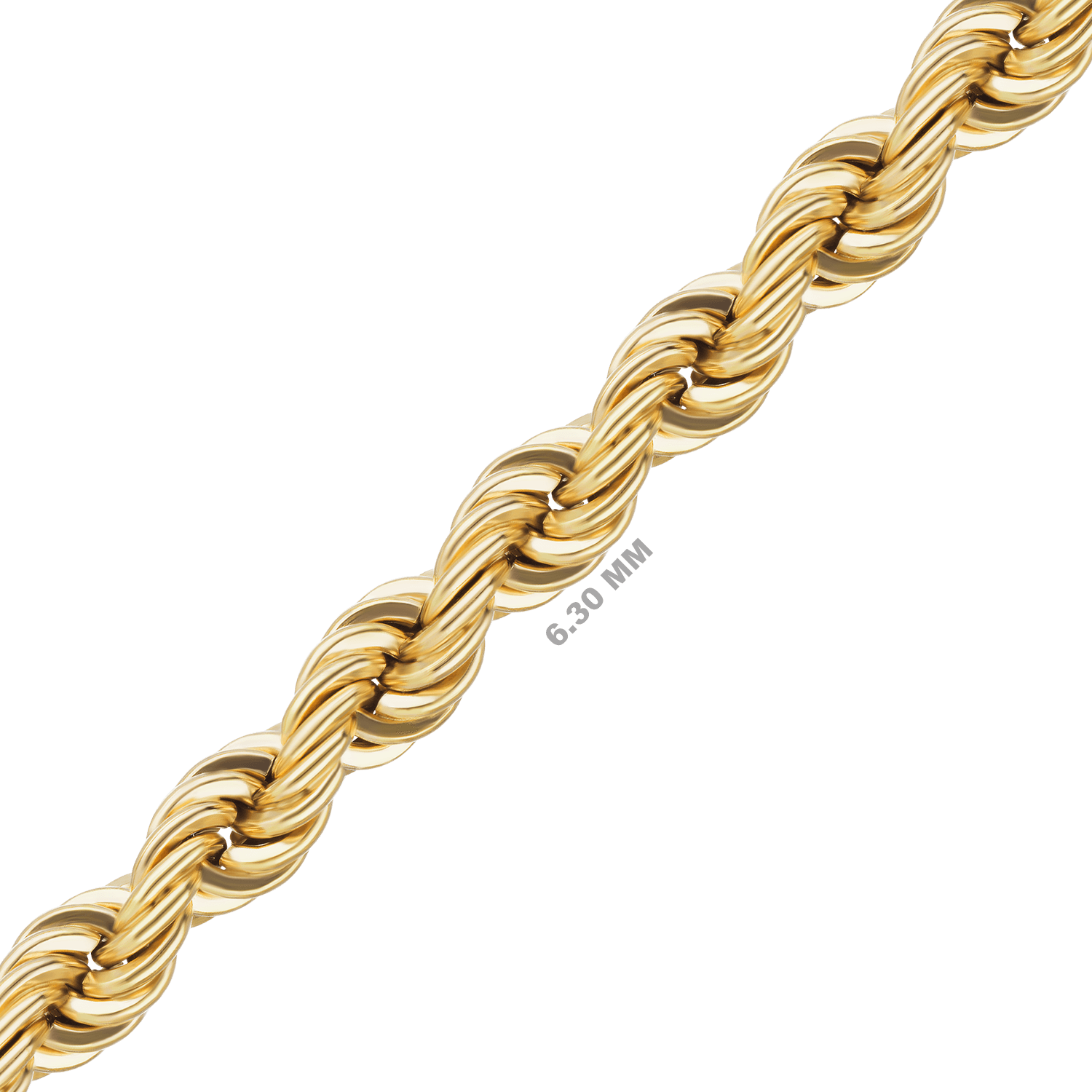 Gold rope chain png. K handmade solid