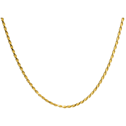 Gold rope chain png. Cremation jewelry plated goldplated