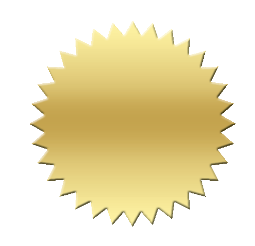 Certificate gold seal png. Image