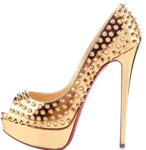 Gold shoes png. Shoe official psds share