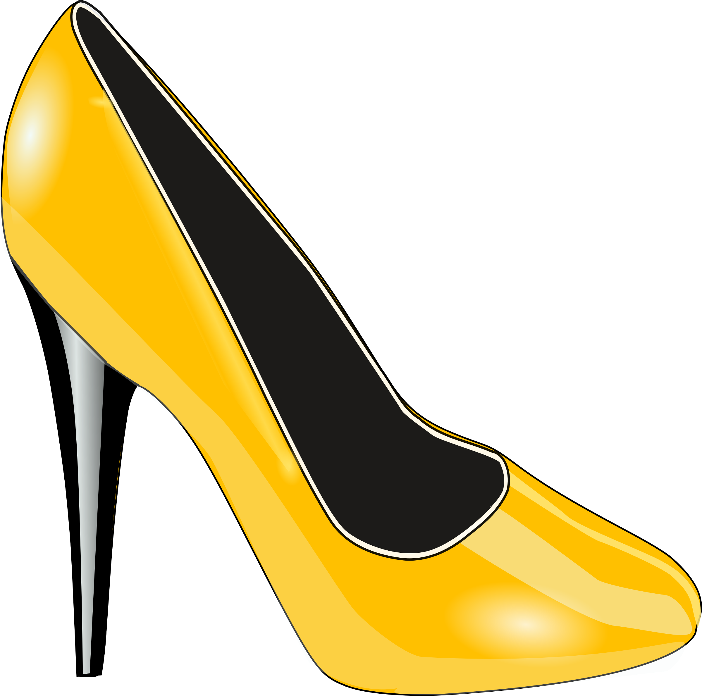 Gold shoes png. Shoe icons free and
