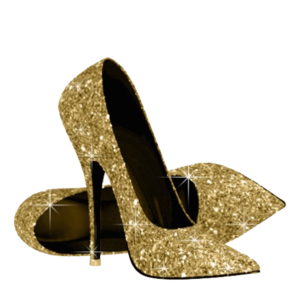 Gold shoes png. Free images at clker