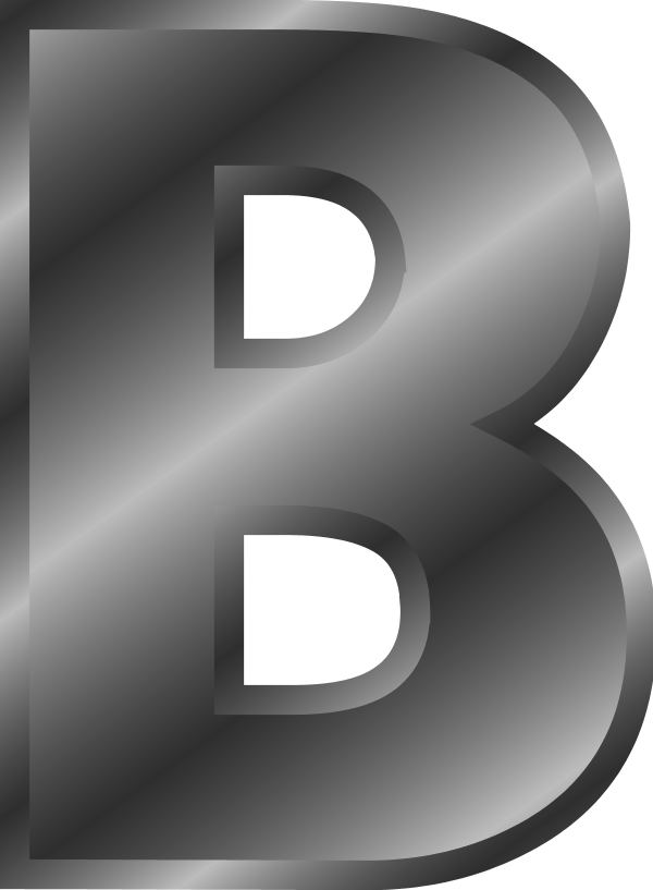 gold silver alphabet png