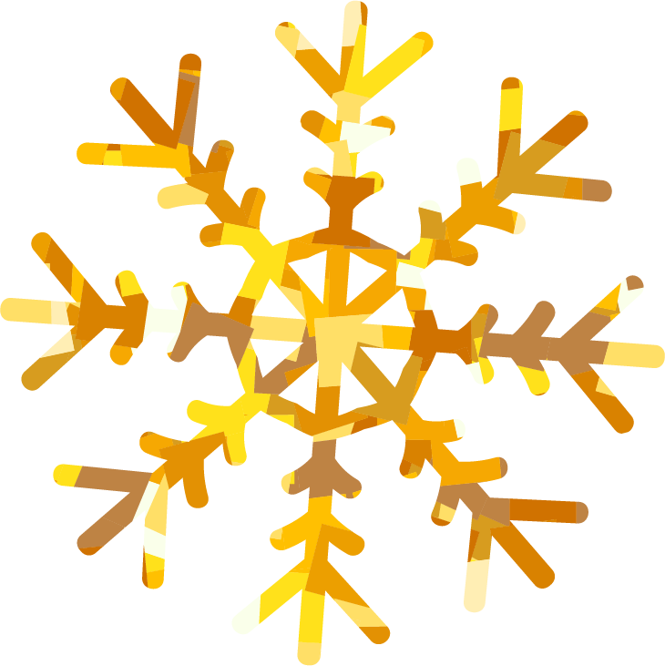 Gold snowflake png. Holiday card simple wllp