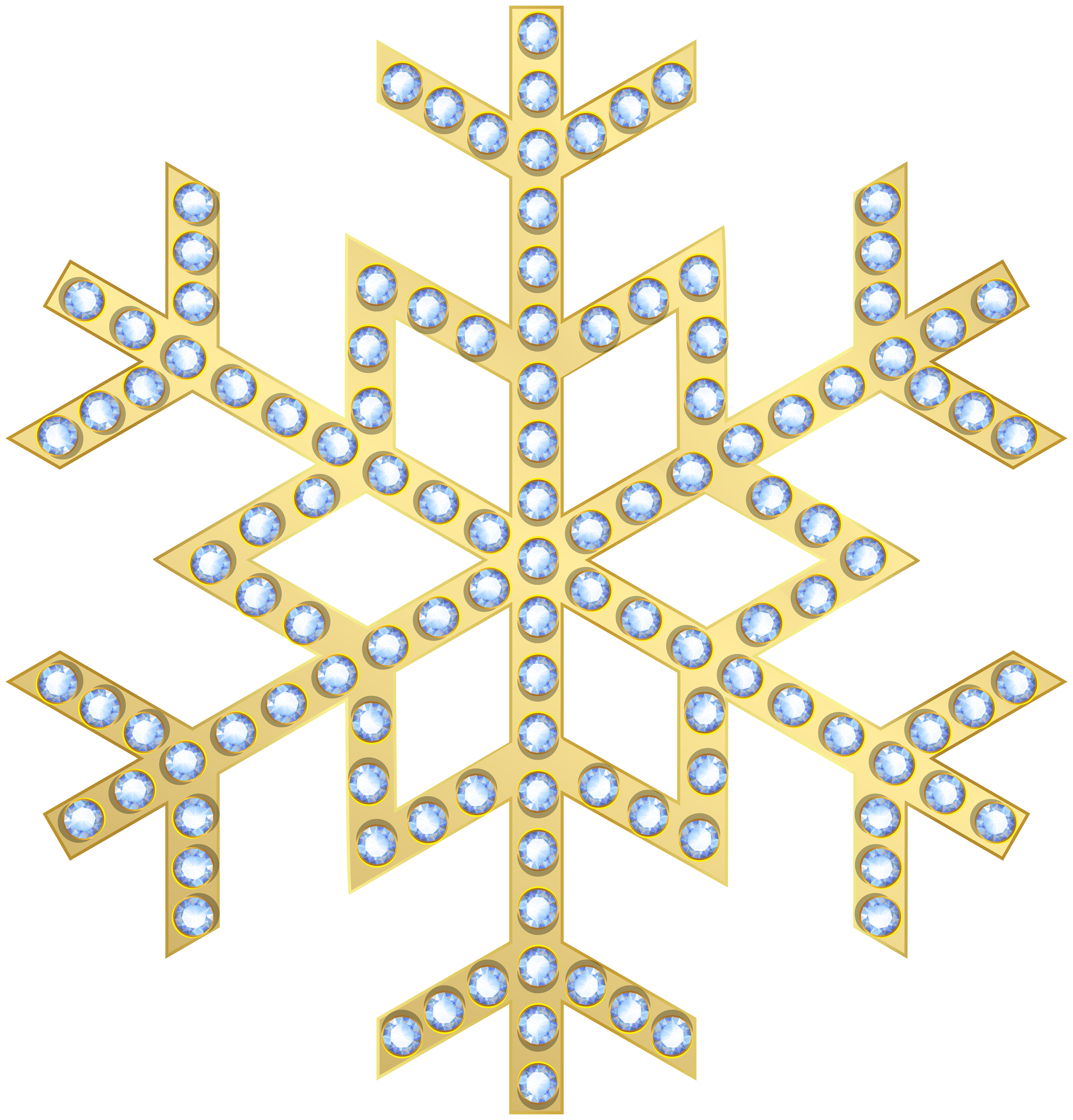 Gold snowflake png. Transparent clip art gallery