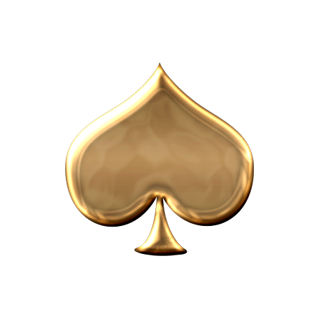 Gold spade png. Shape graphic by marisa