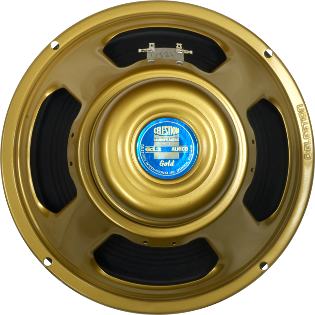Gold speakers png. British celestion alnico speaker