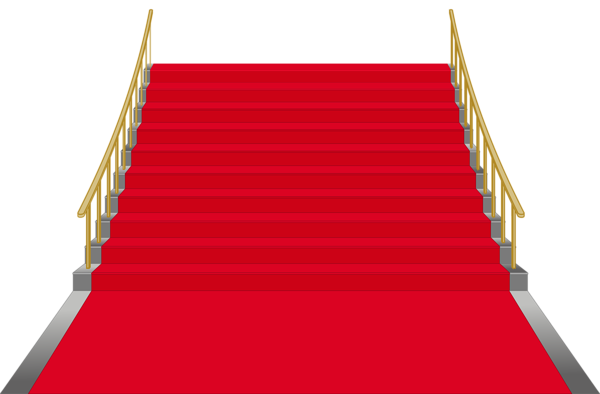Gold stairs png. Gallery decorative elements