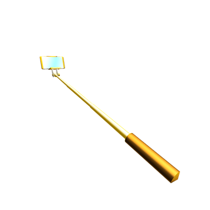 Gold stick png. Image plated selfie roblox