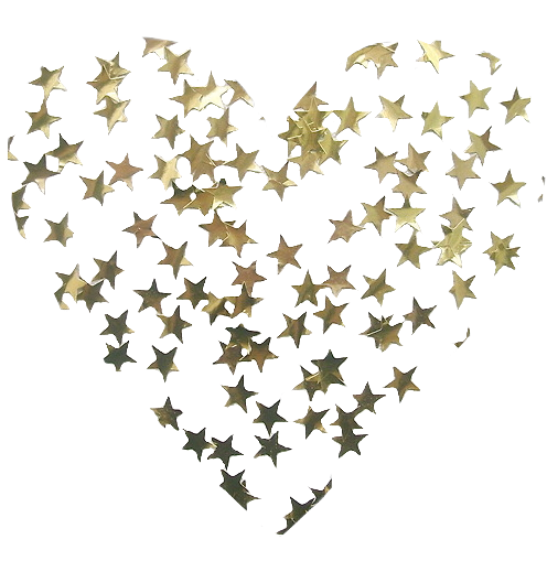 Gold sticker star png. Stickers tumblr