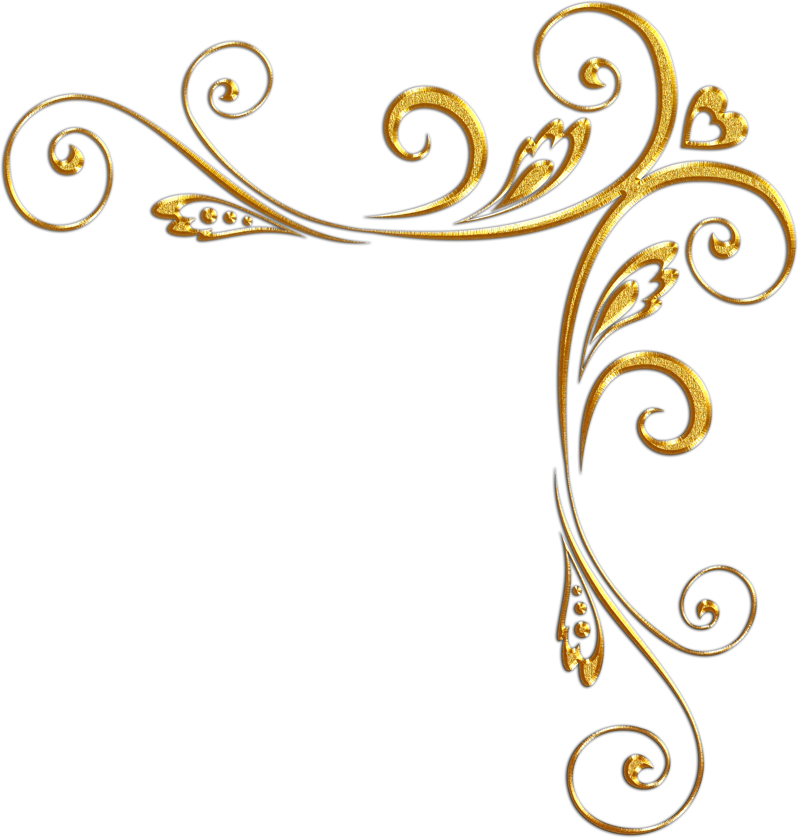Gold swirl border design png. Images of background spacehero