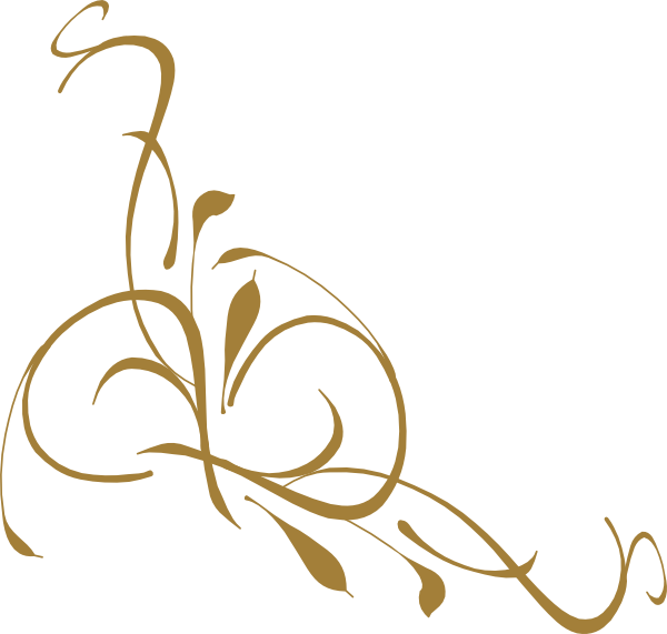 gold filigree png