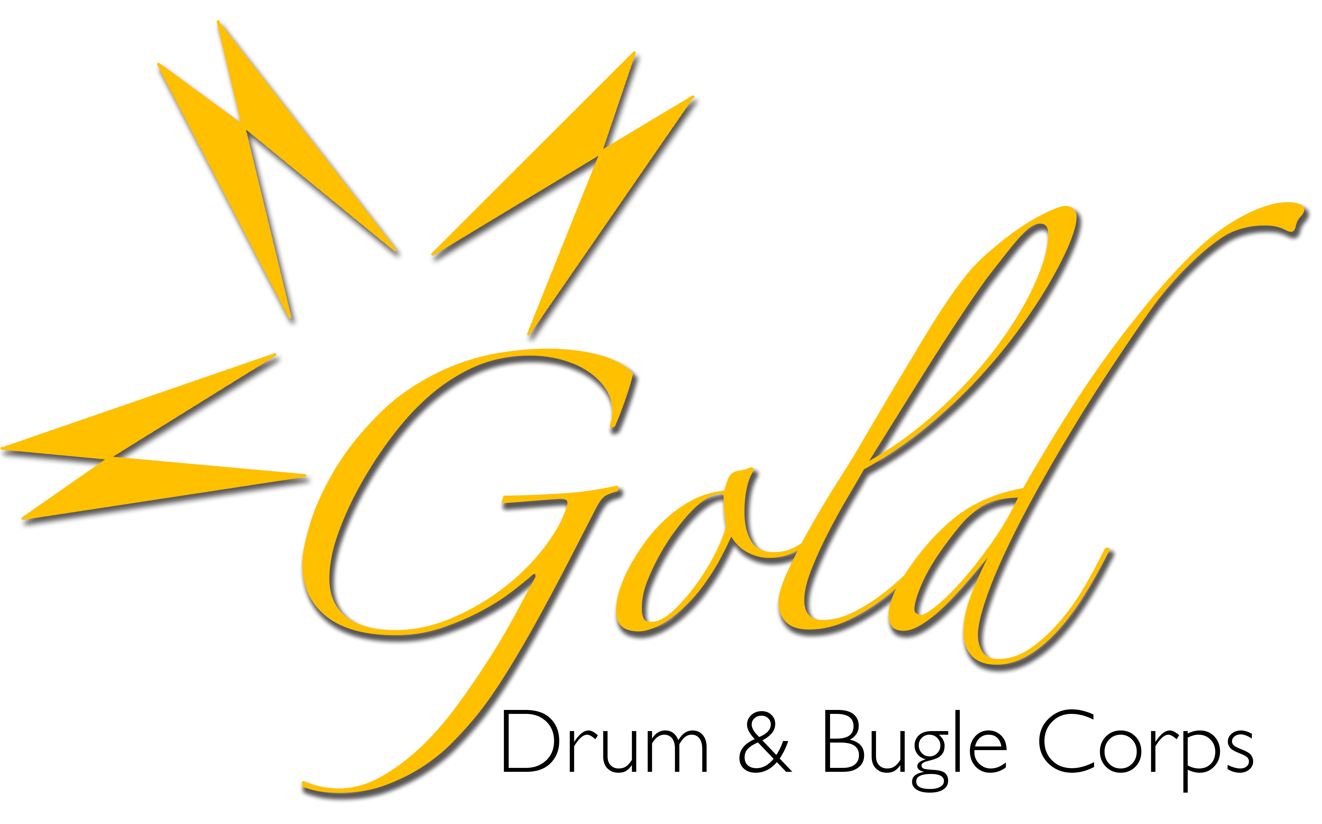 Gold text png. Drum bugle corps oceanside