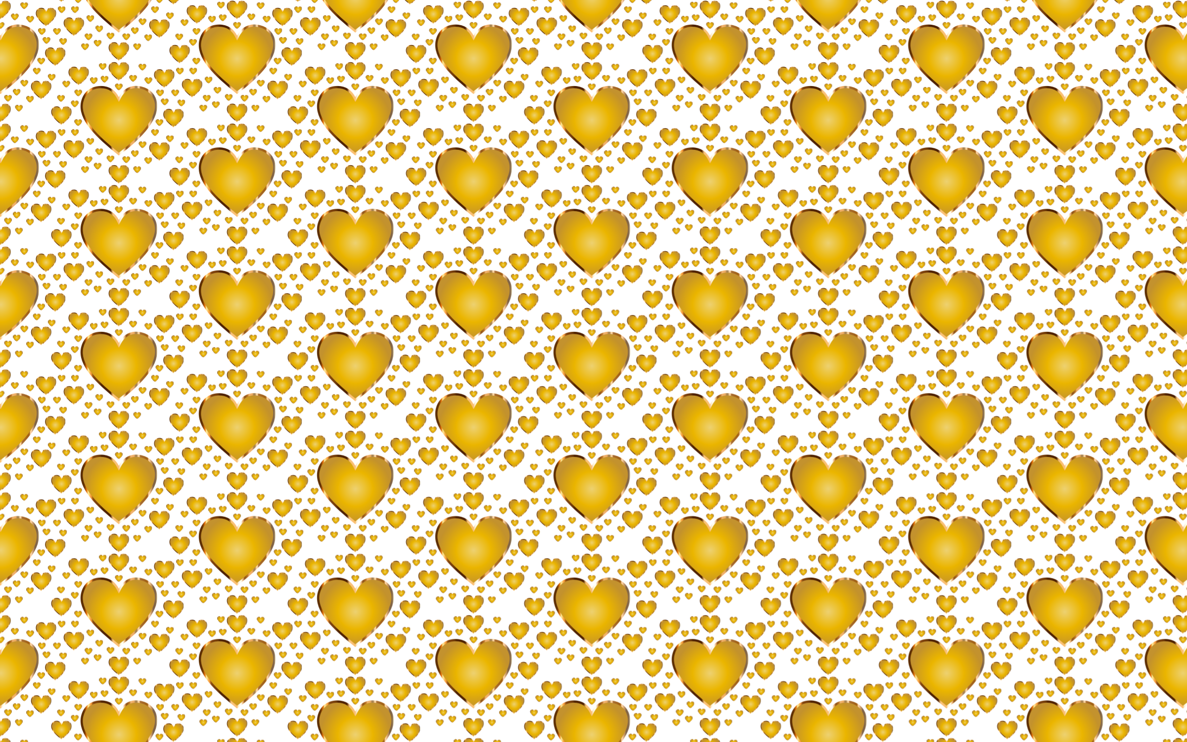 Gold texture png. Seamless heart pattern icons