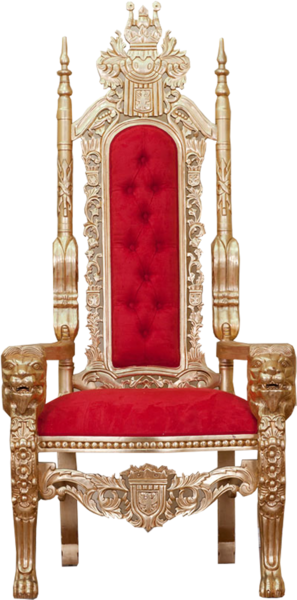 gold throne png