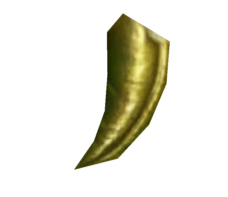 Gold tooth png. Gamecube star fox adventures