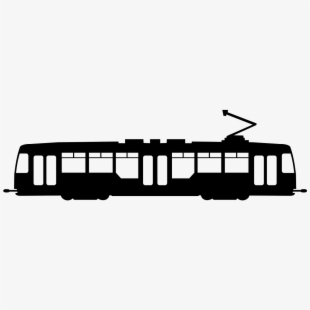 Gold tram. Png download image with