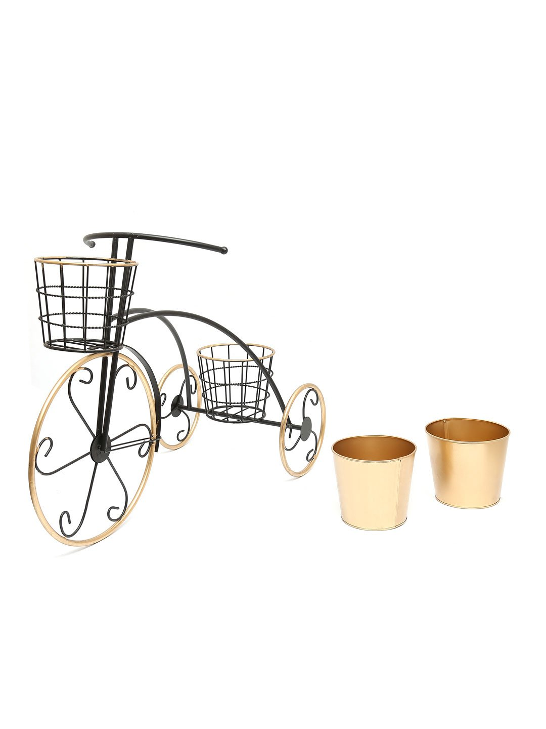 Gold tricycle