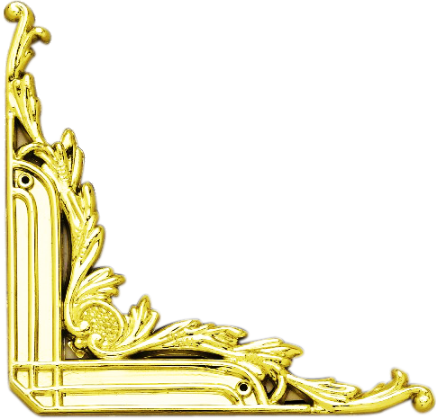 gold trim png