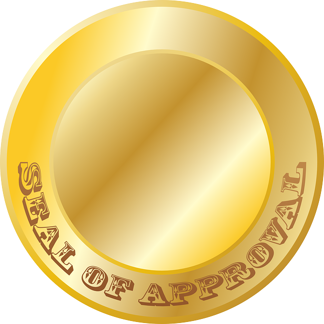 Gold wax seal png. Rubber stamp clip art