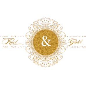Gold wedding png. Red and weddings photography